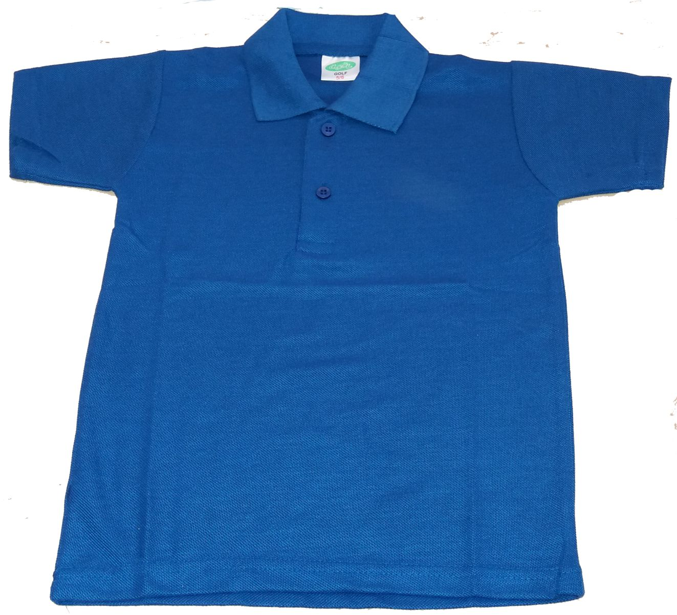 KIDDIES COMBED COTTON GOLF SHIRT 180GSM