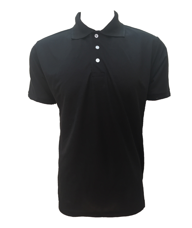 Short Sleeve Poly Cotton Basic Golf Shirt