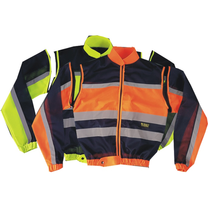 REFLECTIVE HIGH VISIBILITY TRAFFIC JACKET