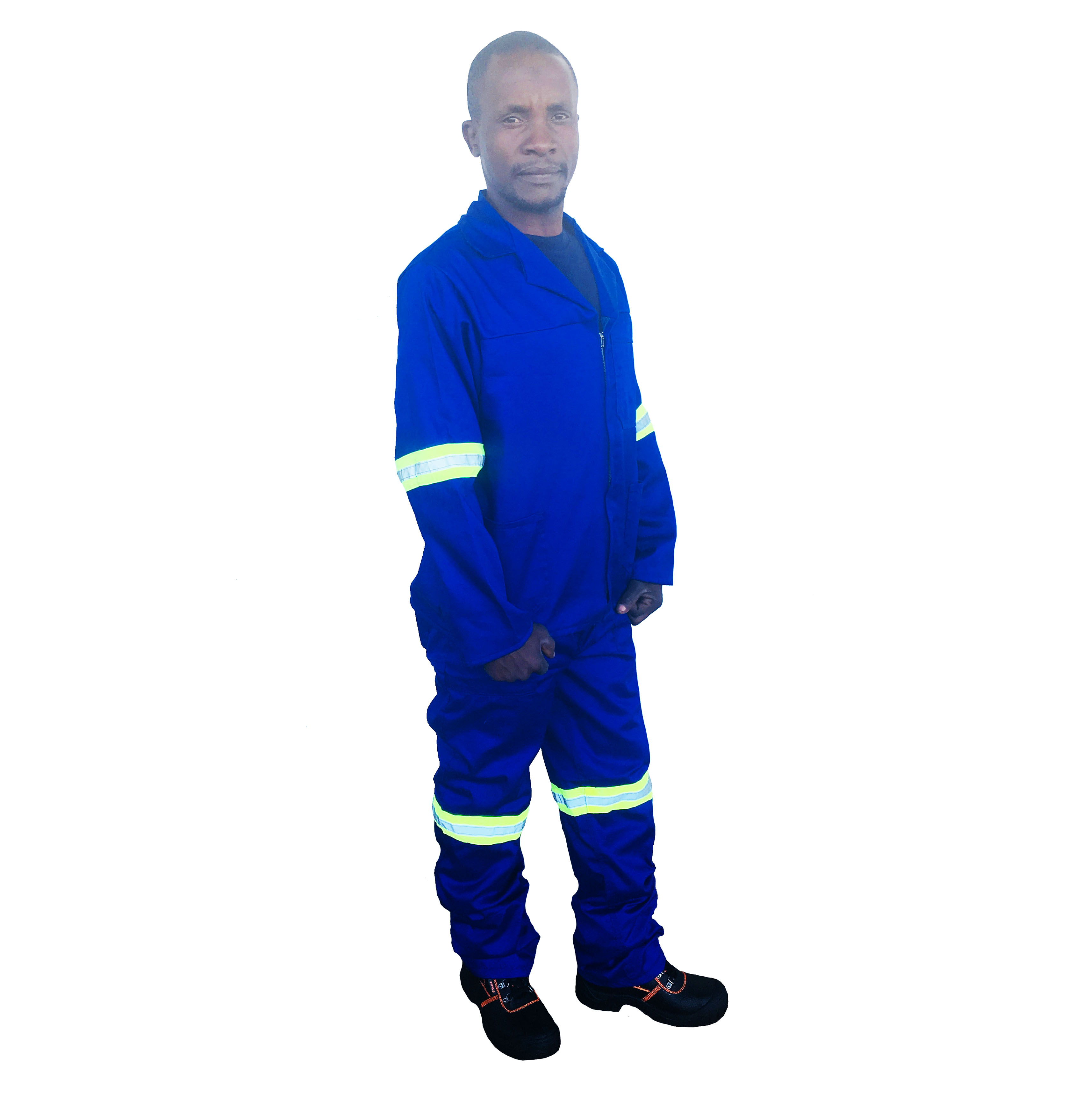 2pc Overalls with Reflective Tape